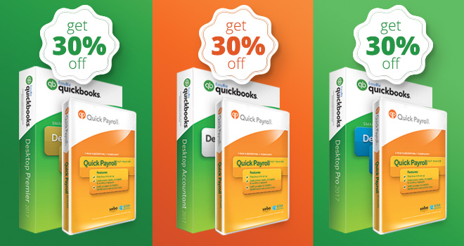 30% Off QuickBooks And Quick Payroll