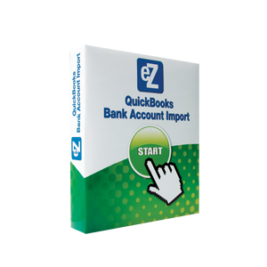 eZ Bank Account Import Software